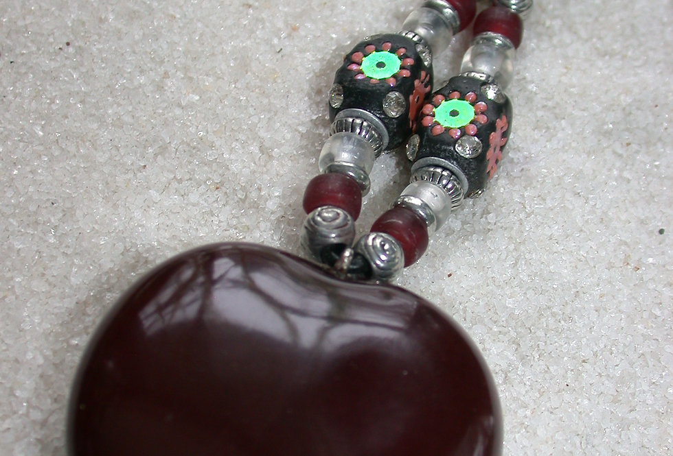 entadas gigas seed key chain