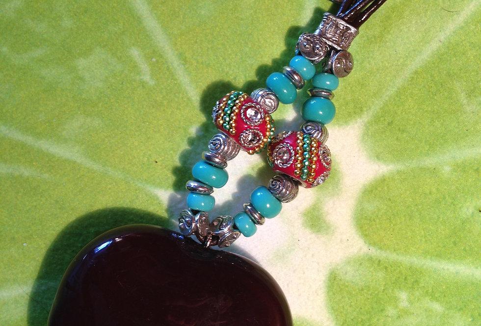 Shiva Sea Heart Key Chain