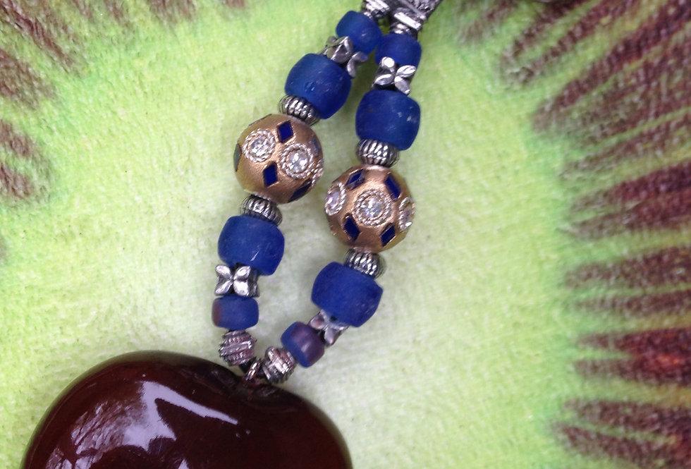 Royal Blue - Seaheart Keychain