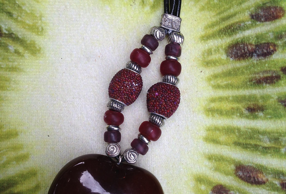 Grape berries - SeaHeart Key Chain