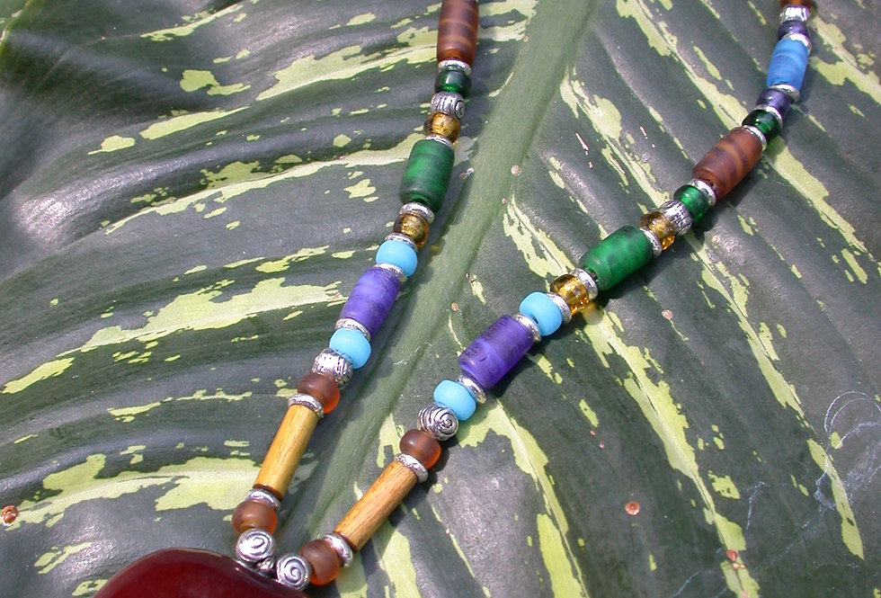 SeaHeart Necklace Chichuli