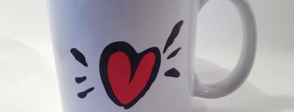 Sea Heart Bean Mug