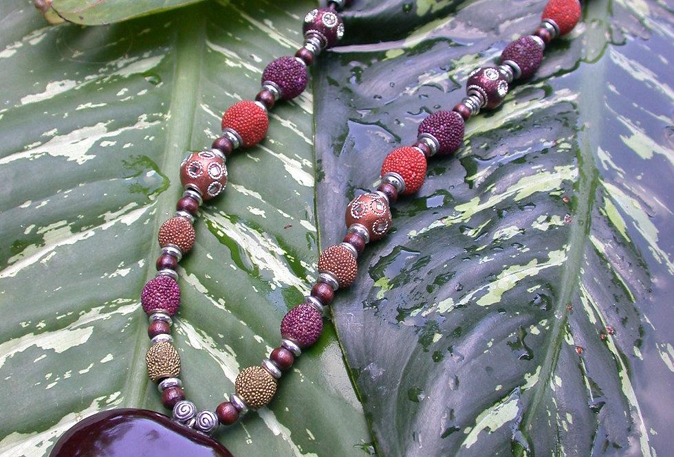 Lucky sea heart necklace