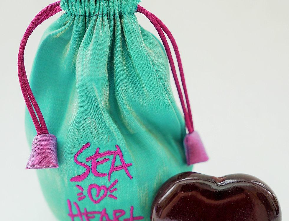 Talisman in Turquoise Satin Bag