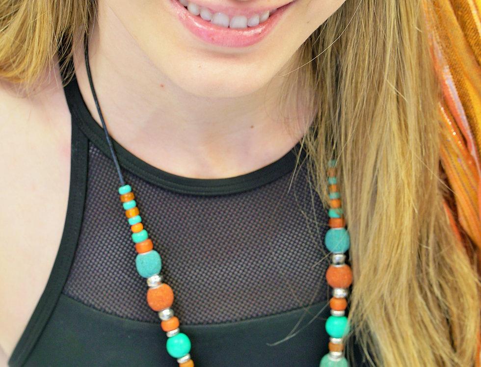Santa fe sea heart necklace