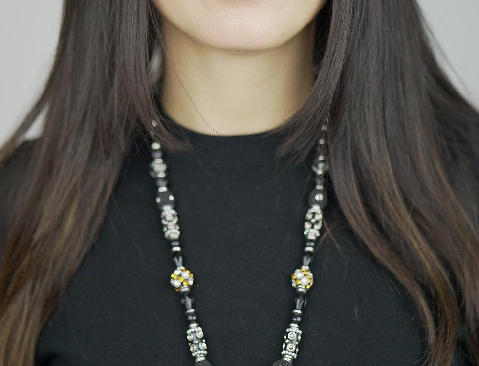 Sea Heart Necklace - Grey Elegance