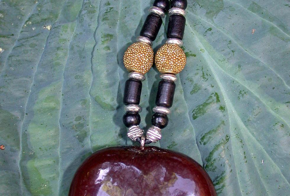 black bamboo sea ban key chain