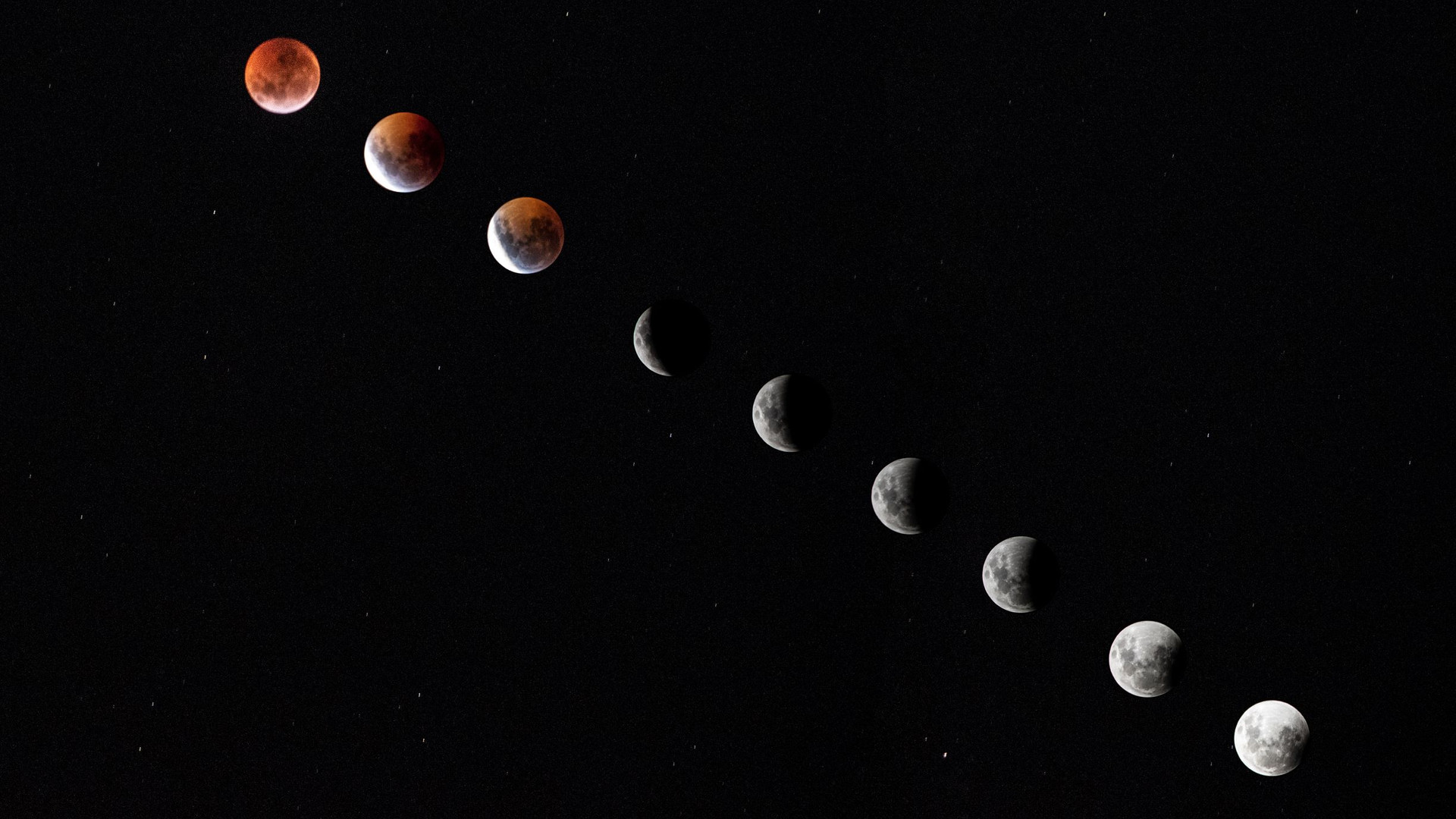 Eclipse-Super Luna 21 de Enero de 2019