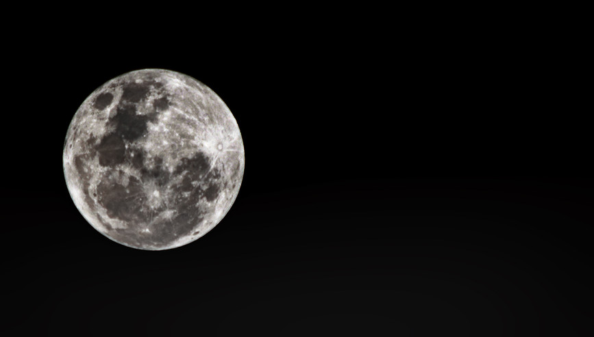 Super Luna - 01 Enero 2018