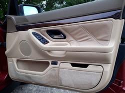 BMW 740i Interior