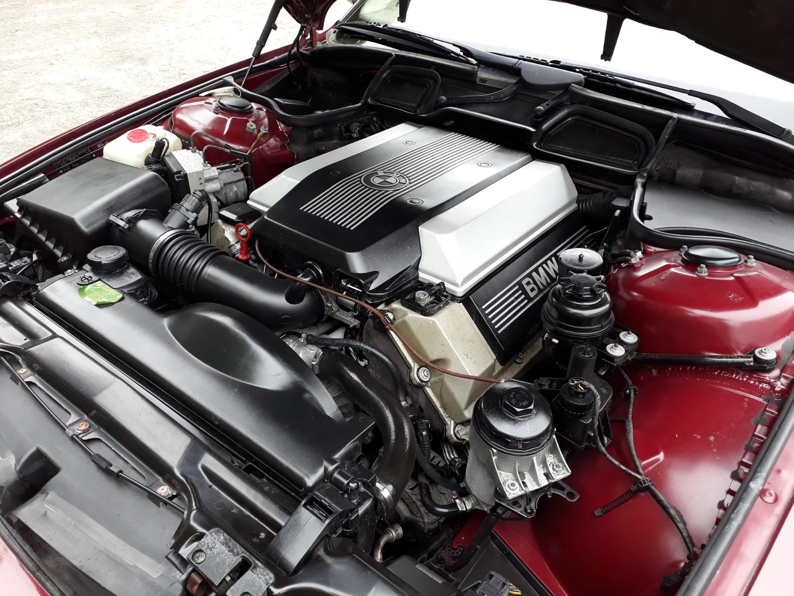 BMW 740i Engine