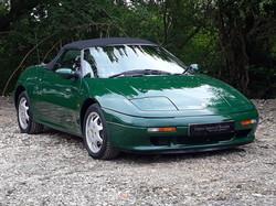 Lotus Elan Green Classic Sports Car