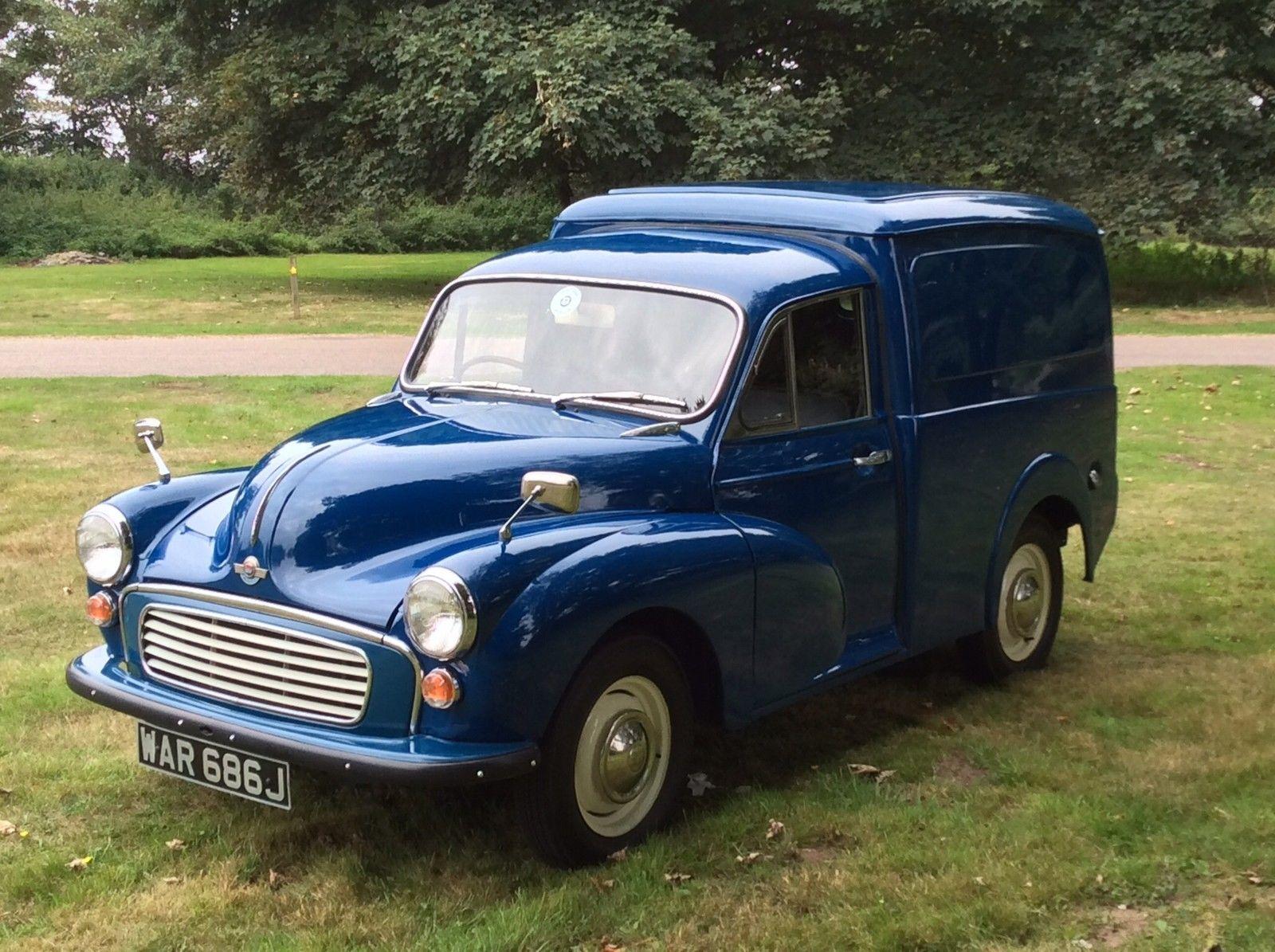 Morris Minor Panel Van for Sale