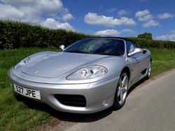 Ferrari 360 Spyder for Sale Sussex