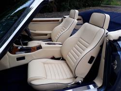 Jaguar XJS V12 Convertible Seats