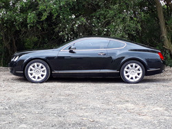 Bentley Continental GT in Sussex