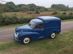 Morris Minor Panel Van Sussex