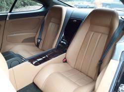 Bentley Continental GT Car Seats