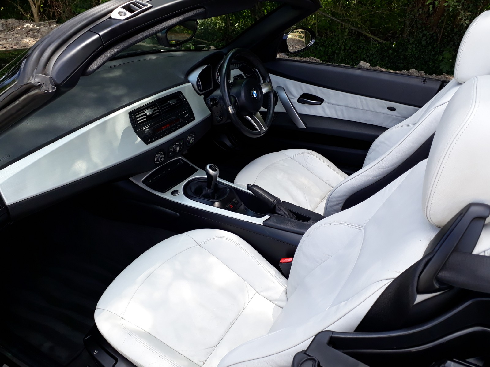 BMW Z4 Convertible Interior