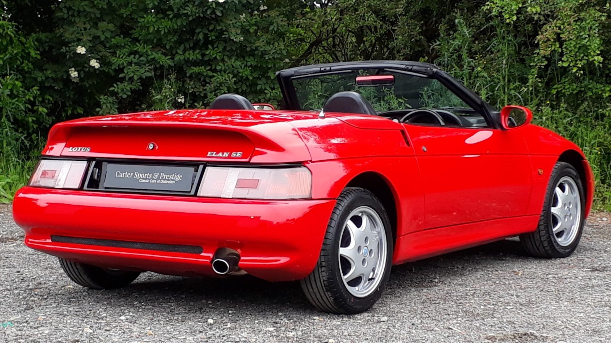 Lotus Elan SE Turbo £10,995