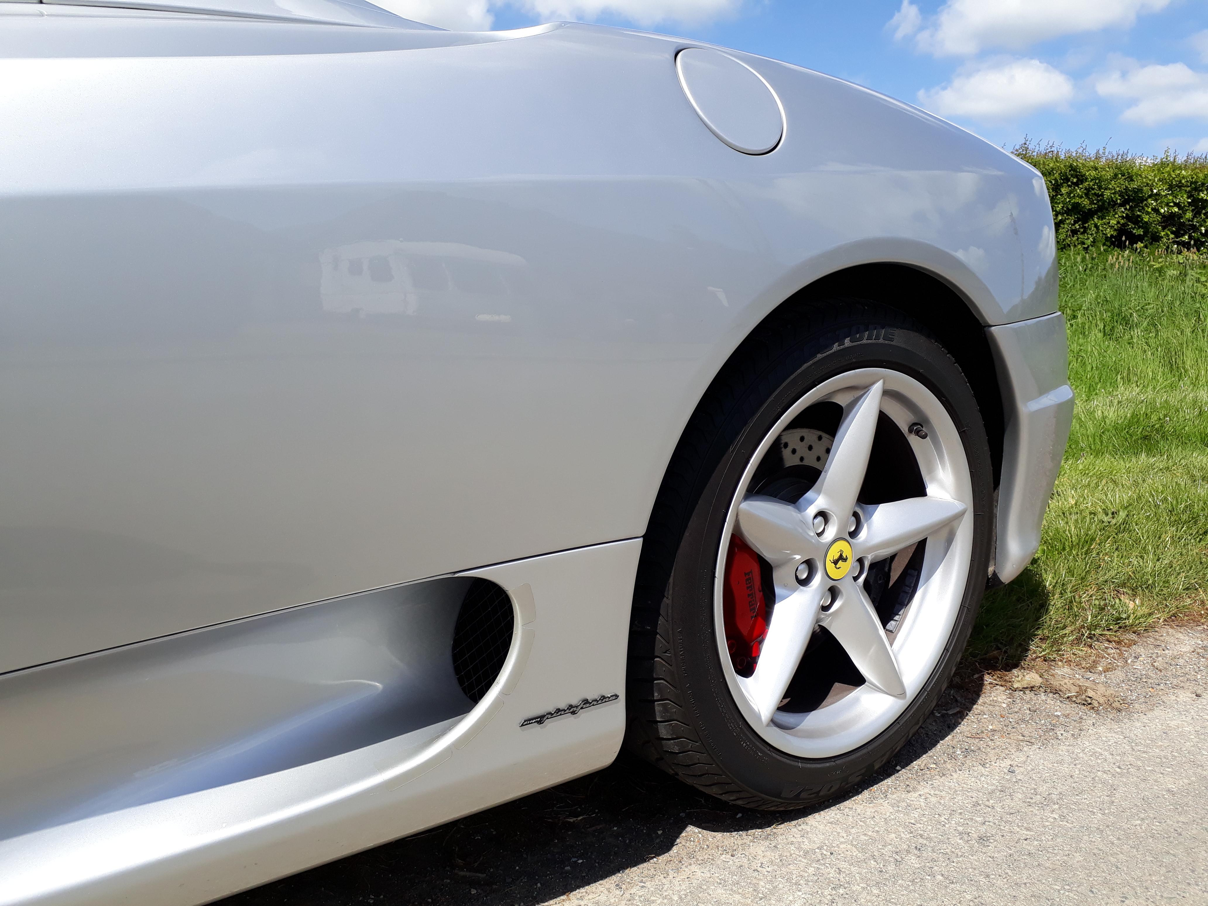 Ferrari 360 Spyder Sports Car Sussex