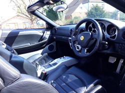 Ferrari 360 Spyder Interior