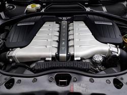 Bentley Continental GT 200mph Engine