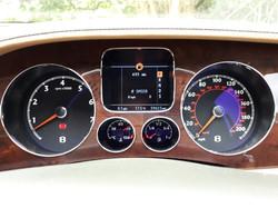Bentley Continental GT Dials