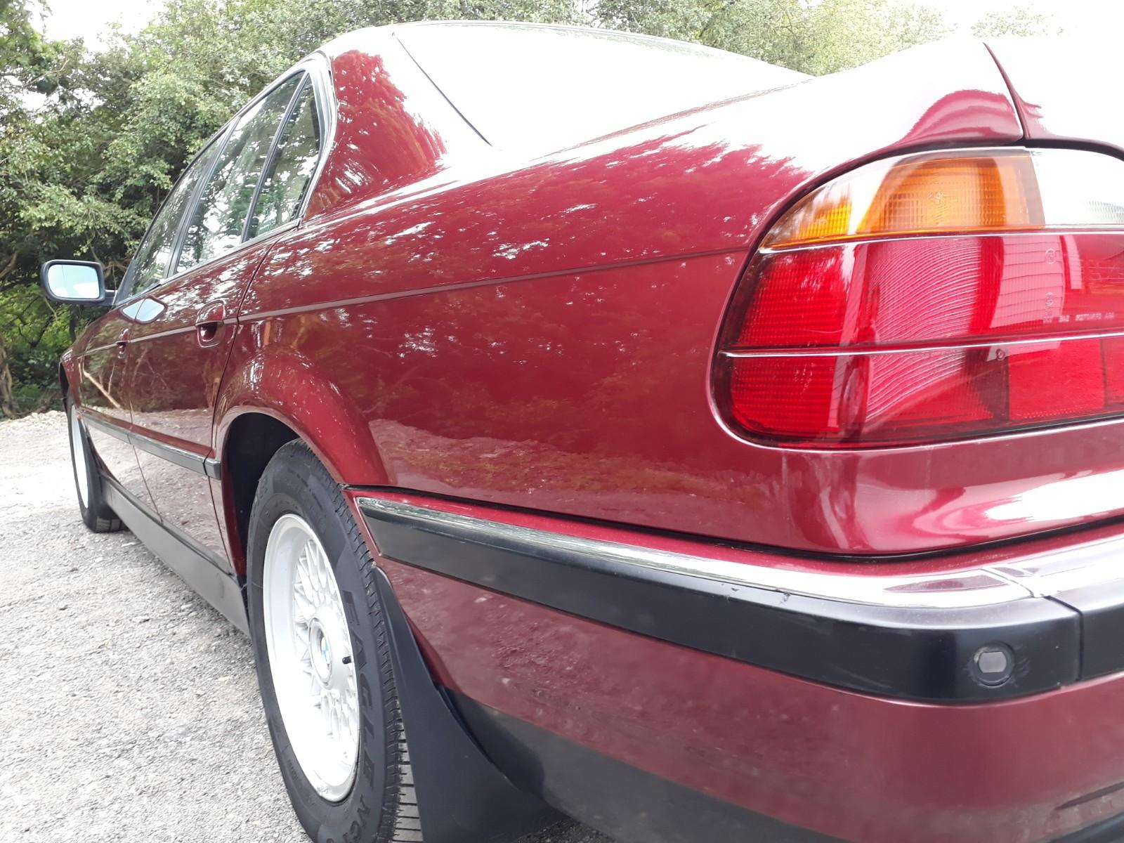 BMW 740i Exterior
