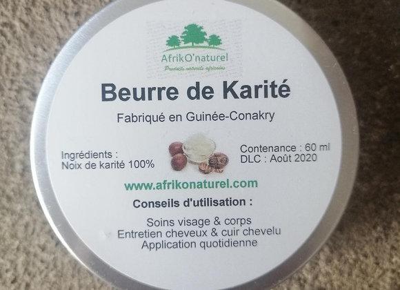 Beurre de Karité - 60 ml - Pur et naturel
