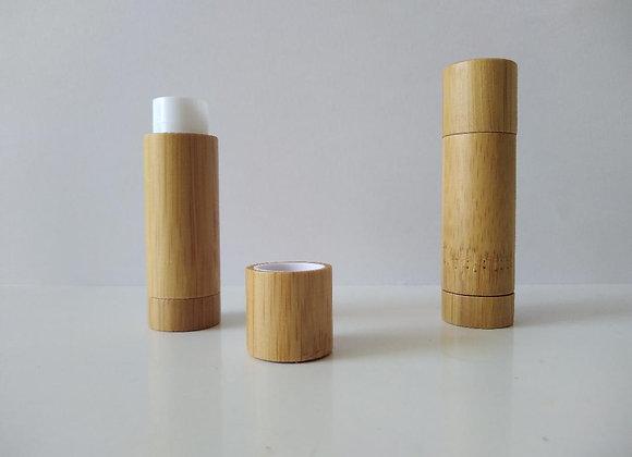 Tube baume à lèvres en bambou au Beurre de Karité - 5,5 ml