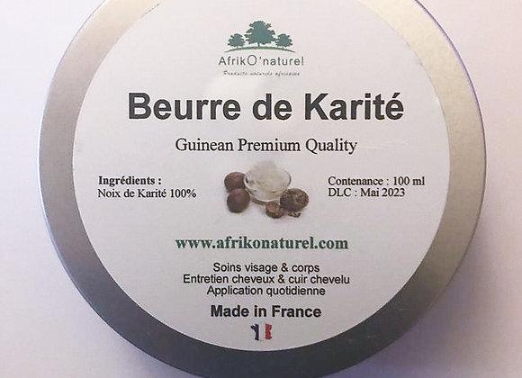 Beurre de Karité - 100 ml - Pur et naturel