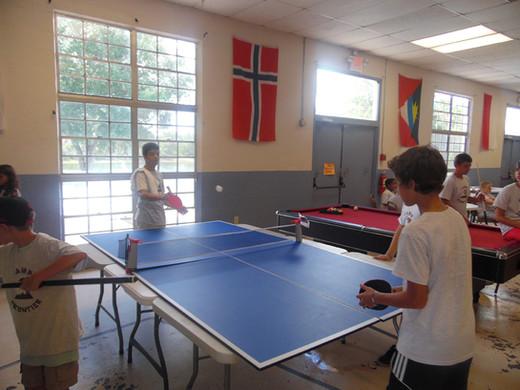 Ping Pong at Camp Frontier