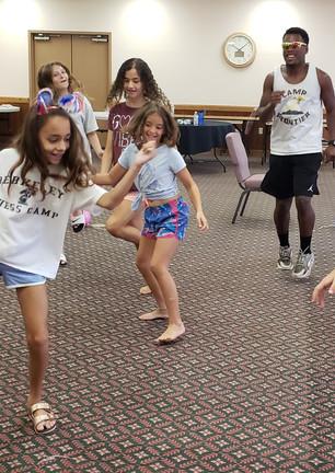Dancing At Camp Frontier