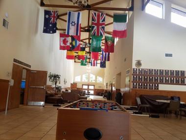 International Hall Camp Frontier