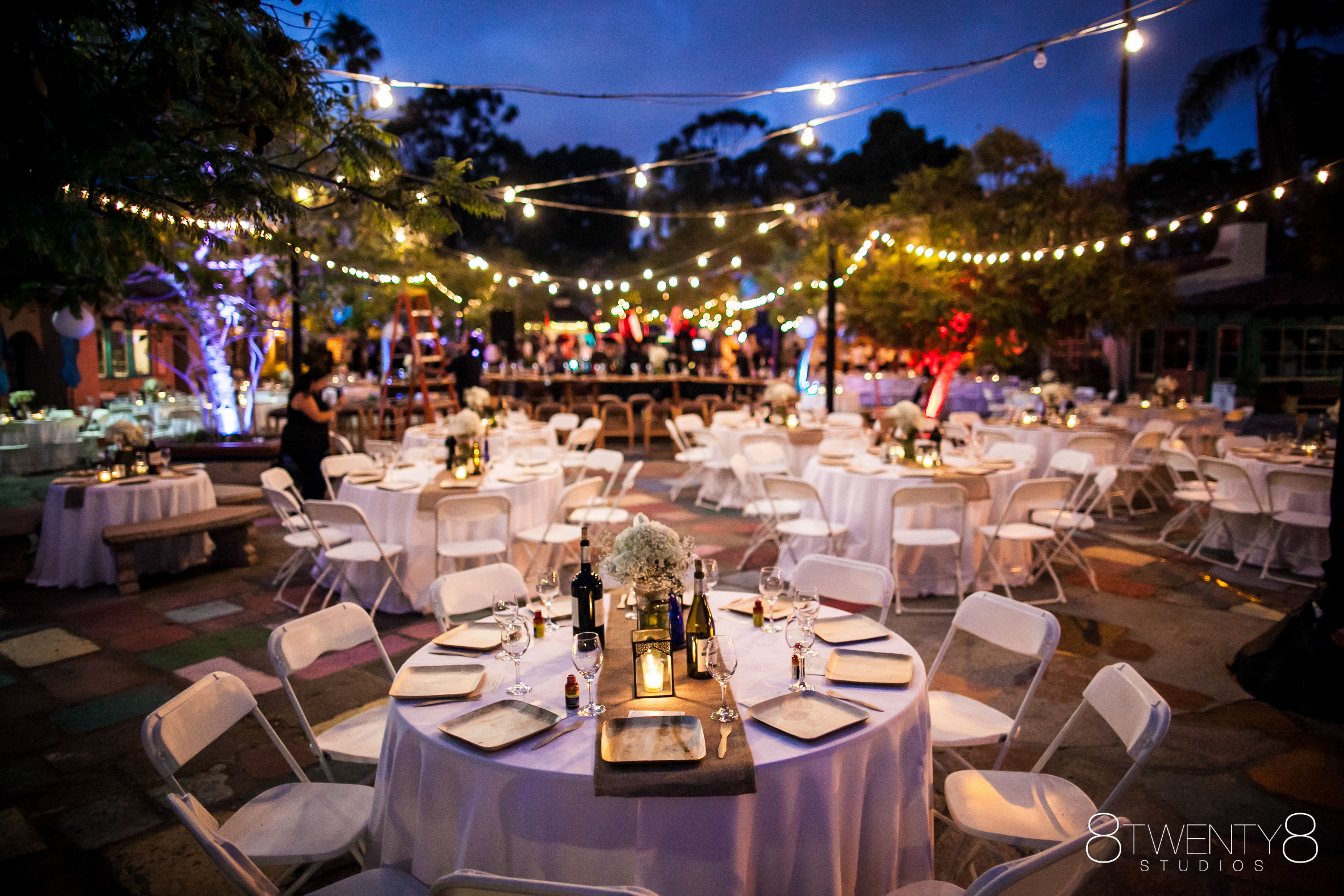 spanish village balboa park wedding