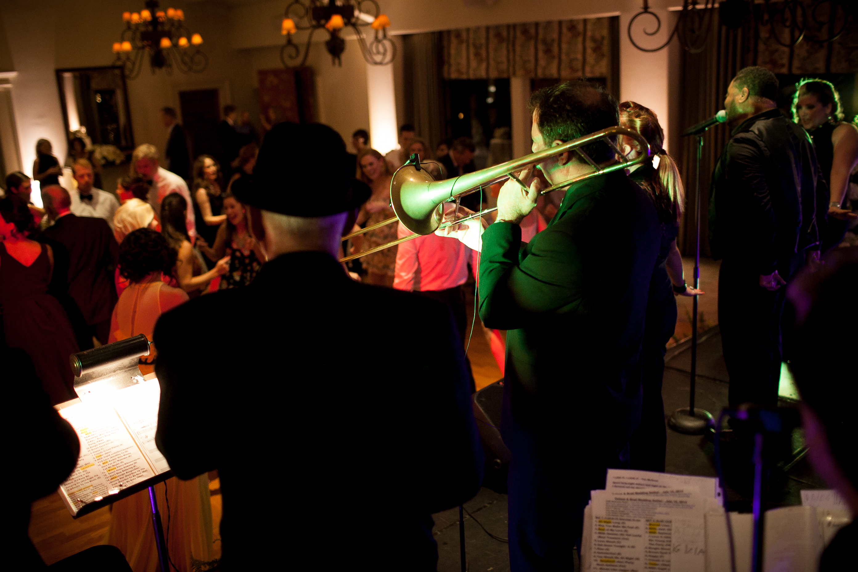 la jolla country club wedding band