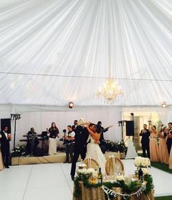 Orange County wedding band