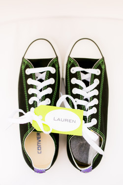van shoes for wedding party