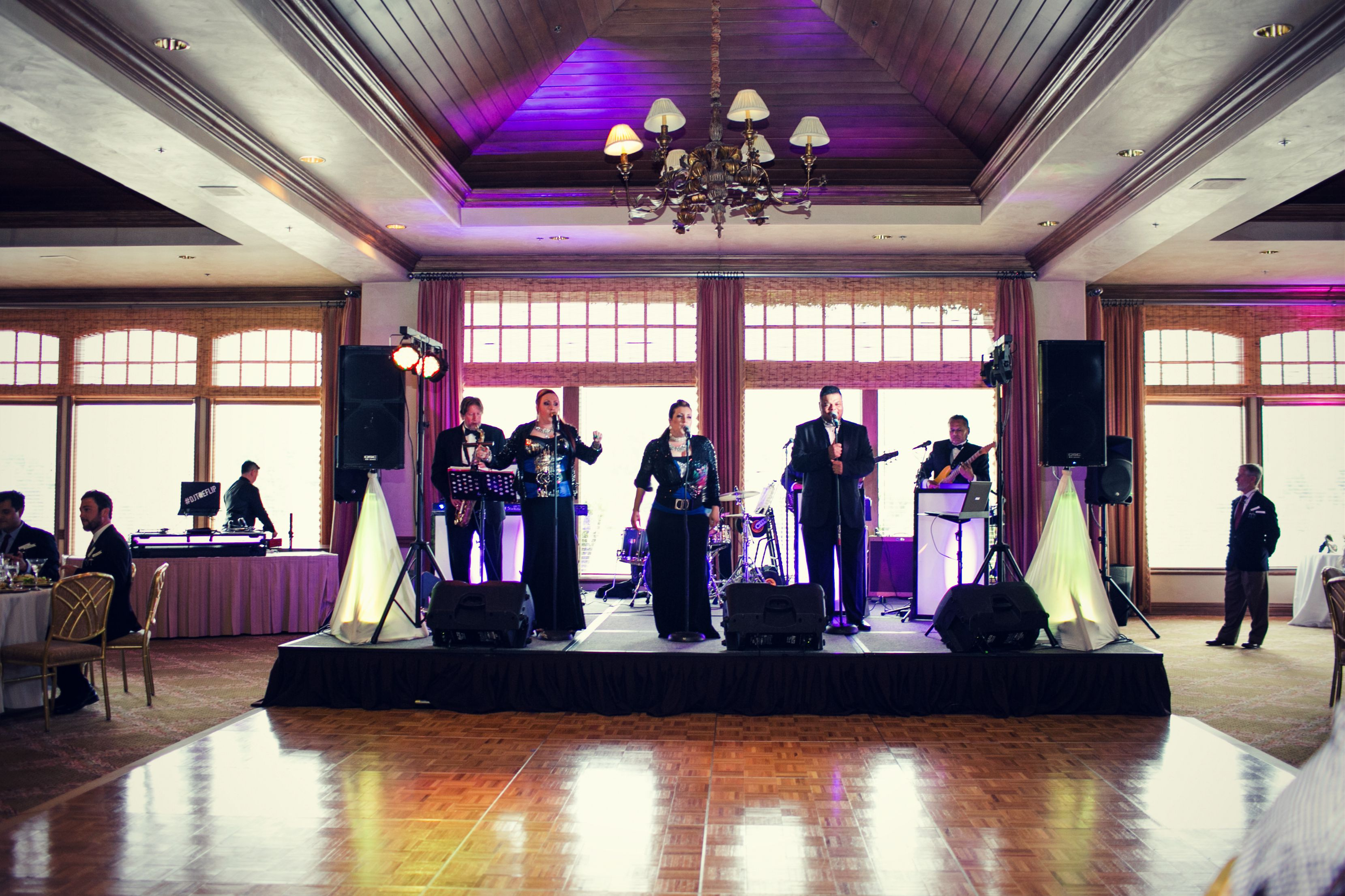 del mar country club wedding band