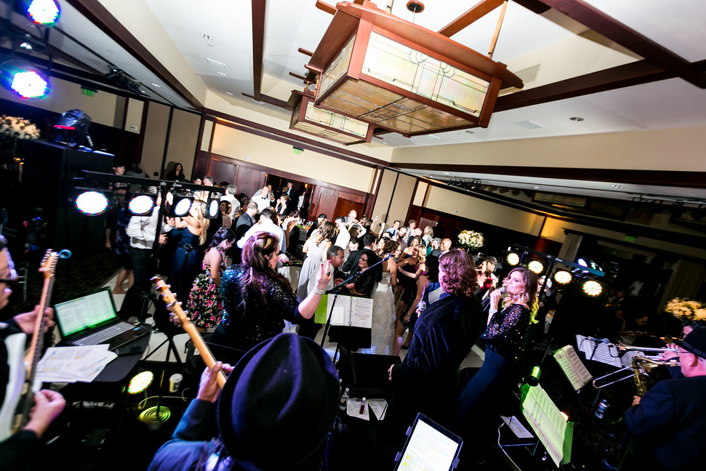 lodge at torrey pines wedding band