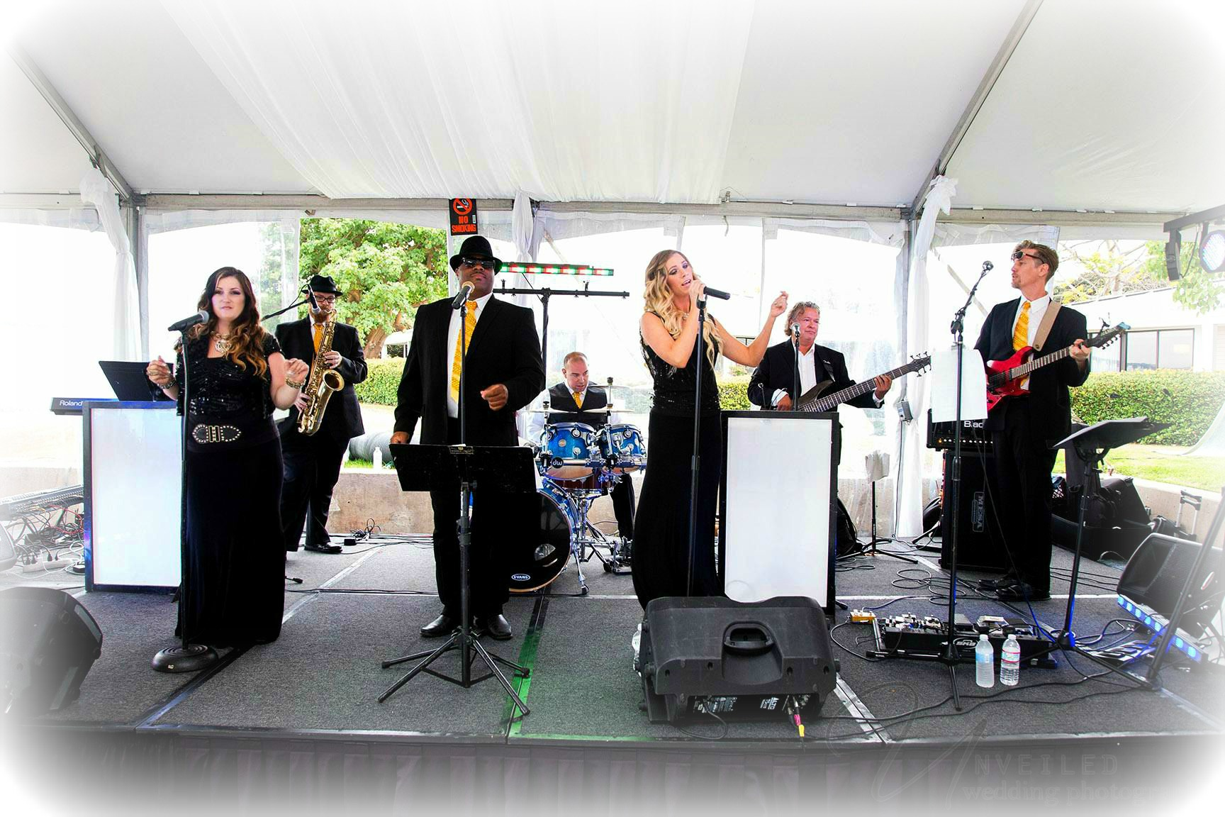 Orange County wedding band for hire