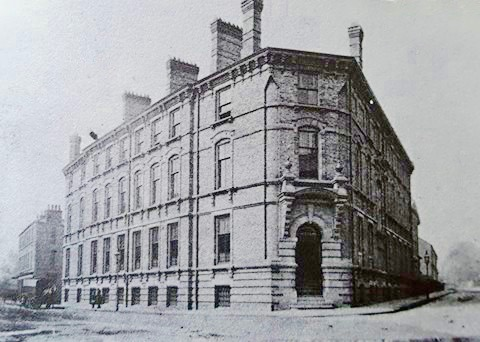 Temperance Hall for the Darlington Temperance Movement