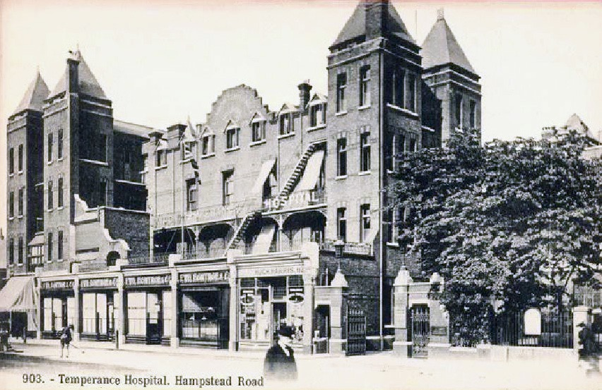 First Temperance Hospital in Hampsted