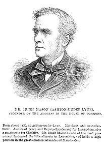 Image of Hugh Mason, temperance leader