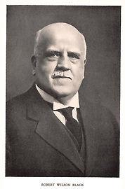 Robert Wilson Black, Alliance House's first chair