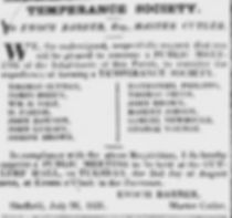 temperance society for antialcoholism