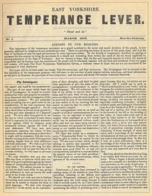 The Temperance Lever