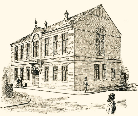 Temperance Hall for the Ossett Temperance Society