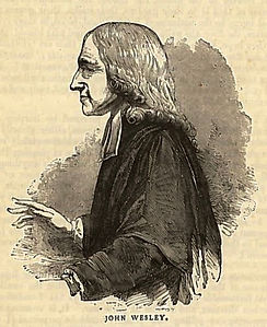 John Wesley in America who provided support for the temperance movement
